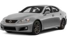 Colors, options and prices for the 2013 Lexus IS-F