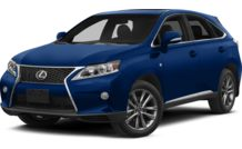 Colors, options and prices for the 2013 Lexus RX 350