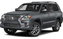 Colors, options and prices for the 2013 Lexus LX 570