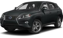 Colors, options and prices for the 2013 Lexus RX 450h