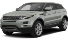 Colors, options and prices for the 2013 Land Rover Range Rover Evoque