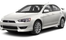 Colors, options and prices for the 2013 Mitsubishi Lancer