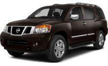 Colors, options and prices for the 2014 Nissan Armada