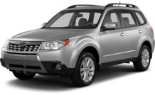 Colors, options and prices for the 2013 Subaru Forester