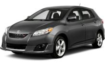 Colors, options and prices for the 2013 Toyota Matrix