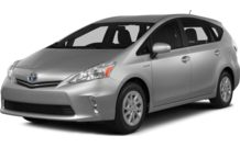 Colors, options and prices for the 2014 Toyota Prius v