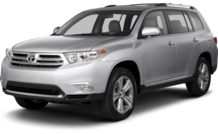 Colors, options and prices for the 2013 Toyota Highlander
