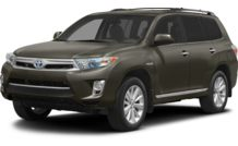 Colors, options and prices for the 2013 Toyota Highlander Hybrid