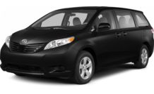 Colors, options and prices for the 2013 Toyota Sienna