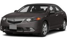Colors, options and prices for the 2014 Acura TSX