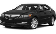 Colors, options and prices for the 2014 Acura RLX