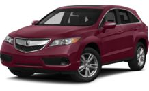 Colors, options and prices for the 2014 Acura RDX