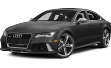 Colors, options and prices for the 2014 Audi RS 7