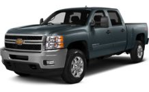 Colors, options and prices for the 2014 Chevrolet Silverado 2500HD