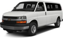 Colors, options and prices for the 2014 Chevrolet Express 3500