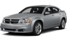 Colors, options and prices for the 2014 Dodge Avenger