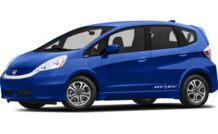 Colors, options and prices for the 2014 Honda Fit EV