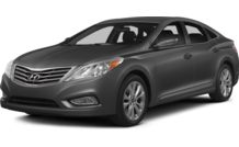 Colors, options and prices for the 2014 Hyundai Azera