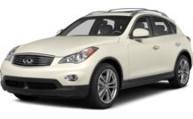 Colors, options and prices for the 2014 Infiniti QX50