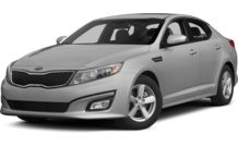 Colors, options and prices for the 2014 Kia Optima