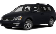 Colors, options and prices for the 2014 Kia Sedona