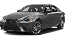 Colors, options and prices for the 2015 Lexus IS 250