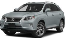 Colors, options and prices for the 2014 Lexus RX 350