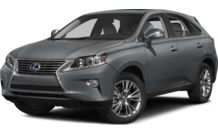 Colors, options and prices for the 2014 Lexus RX 450h