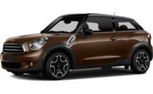 Colors, options and prices for the 2014 MINI Paceman