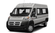 Colors, options and prices for the 2016 RAM ProMaster 2500 Window Van