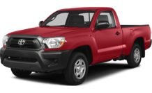 Colors, options and prices for the 2014 Toyota Tacoma