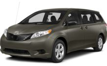 Colors, options and prices for the 2014 Toyota Sienna