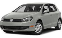 Colors, options and prices for the 2014 Volkswagen Golf