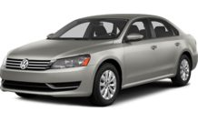 Colors, options and prices for the 2014 Volkswagen Passat