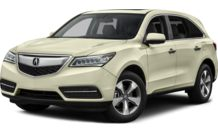 Colors, options and prices for the 2015 Acura MDX