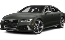 Colors, options and prices for the 2015 Audi RS 7