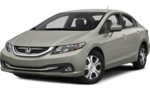 Colors, options and prices for the 2015 Honda Civic Hybrid