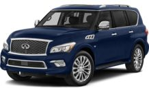 Colors, options and prices for the 2015 Infiniti QX80