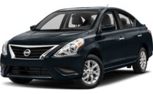 Colors, options and prices for the 2016 Nissan Versa