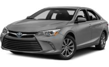 Colors, options and prices for the 2016 Toyota Camry Hybrid