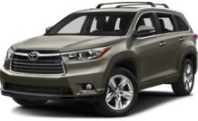Colors, options and prices for the 2015 Toyota Highlander