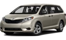 Colors, options and prices for the 2016 Toyota Sienna