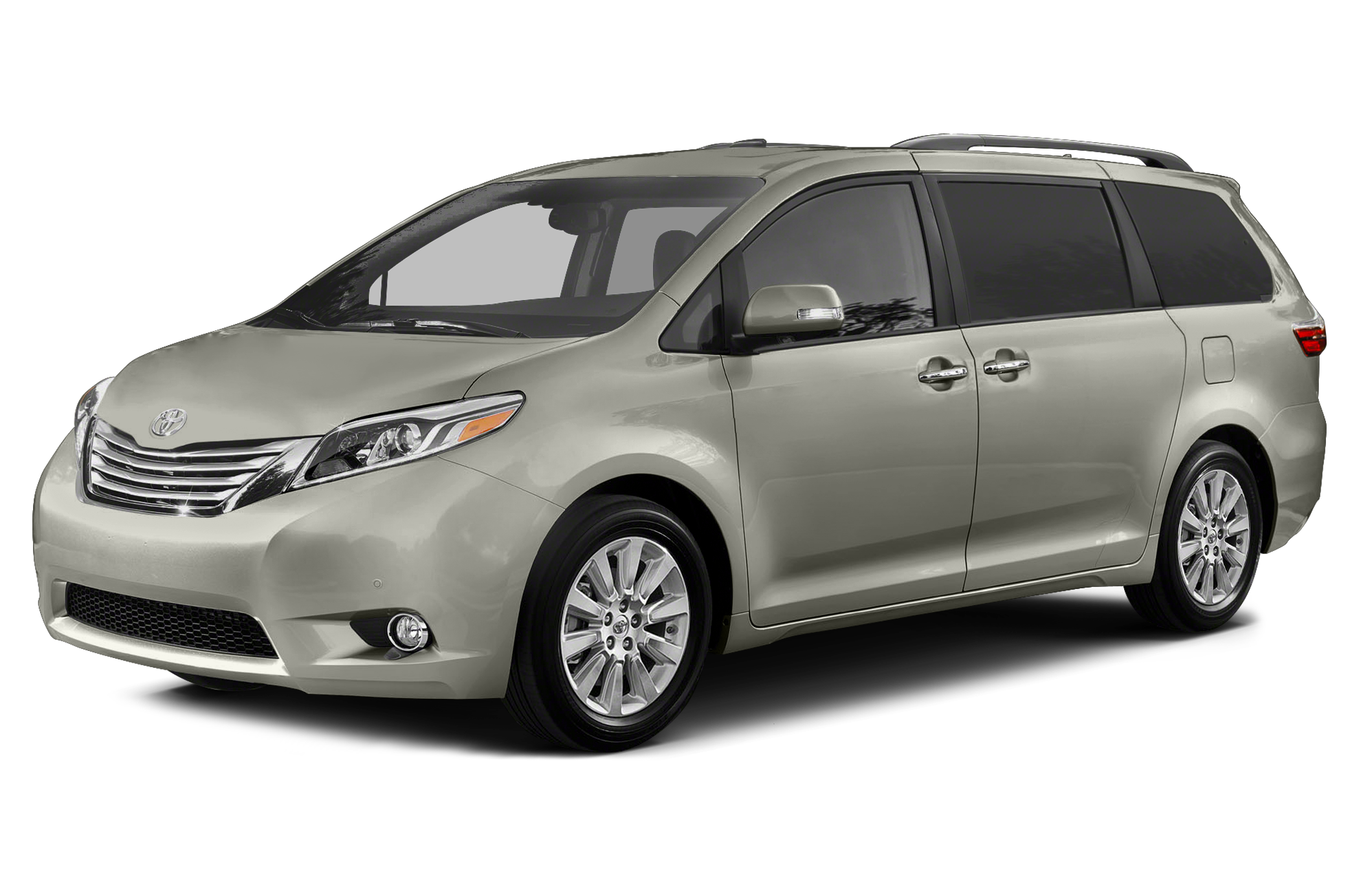 Available in 16 styles: 2015 Toyota Sienna 4dr FWD Passenger Van shown