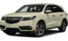 Colors, options and prices for the 2016 Acura MDX
