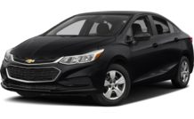 Colors, options and prices for the 2016 Chevrolet Cruze