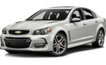 Colors, options and prices for the 2016 Chevrolet SS