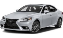 Colors, options and prices for the 2016 Lexus IS 300
