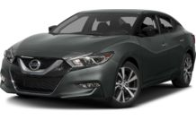 Colors, options and prices for the 2016 Nissan Maxima