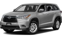 Colors, options and prices for the 2016 Toyota Highlander